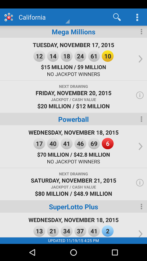 Lotto Results Premium- screenshot