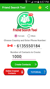 Friend Search for WhatsApp- screenshot thumbnail