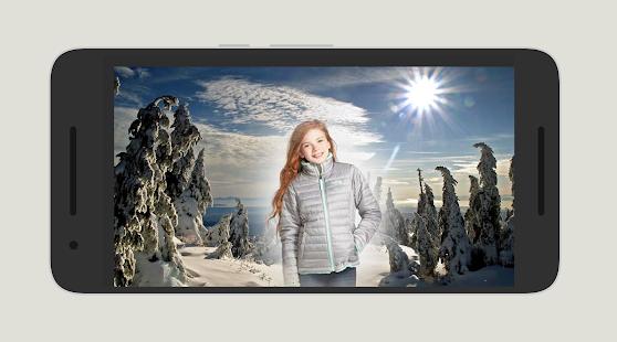 Winter Photo Frame - náhled
