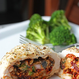 Greek Stuffed Chicken Breasts