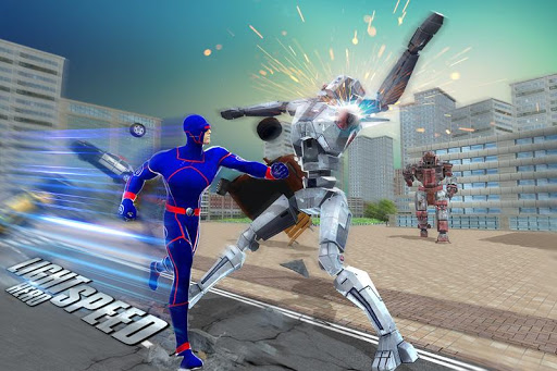 Grand Light Speed Robot Hero City Rescue Mission 1.1 screenshots 1