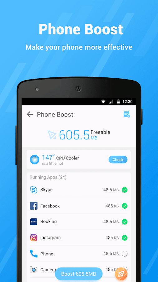 AT Clean (Optimize Boost Fast)- screenshot
