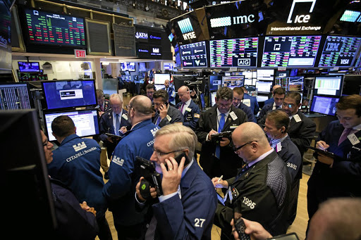 VOLATILE: Investors remain braced for further hectic trading while the VIX — an index that tracks expected volatility in US equities — remains elevated at 30, against its long-run average of about 20. Picture: Bloomberg