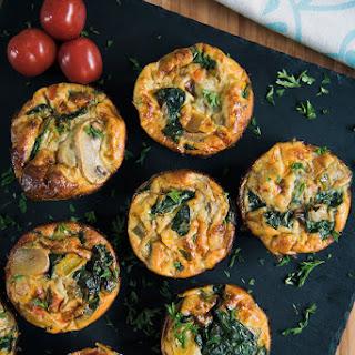 Keto Egg Frittata Muffins.