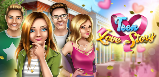 Teen Love Story Game For Girls app (apk) free download for Android/PC/Windows screenshot