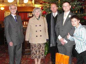 Photo: Uncle Chow (Paul Chown), Barbara, Graham, Ed, Alex