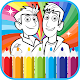 coloring book game for wild (painting wild) (game)