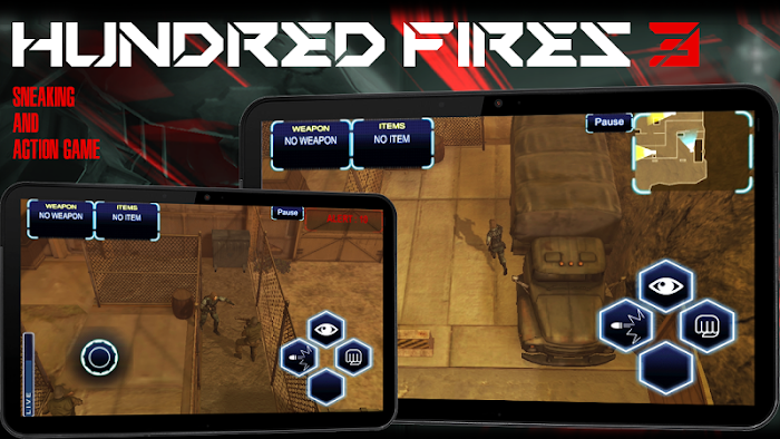 HUNDRED FIRES 3 Sneak & Action- screenshot