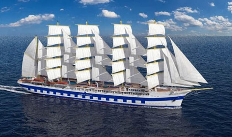 The 300-passenger sailing ship Flying Clipper is expected to debut later in 2018.