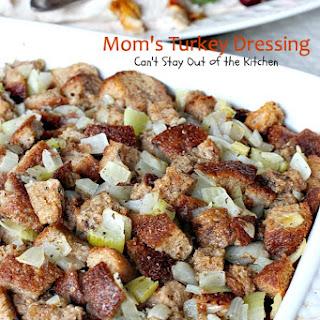 MOM'S TURKEY DRESSING Recipe