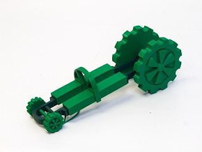 Band-IT Dragster - 3D Printed Race Car