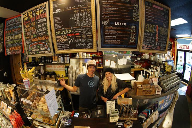 Randy & Ericah Winzeler behind the counter. Photo: Atticus.