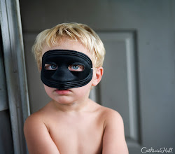 Photo: The Boy Behind The Mask.