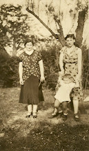 Photo: Anna Braunhart Tulman, Frieda Braunhart Brunn and Henry Brunn