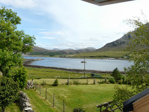 Photo: View from the landing window towards Sconser