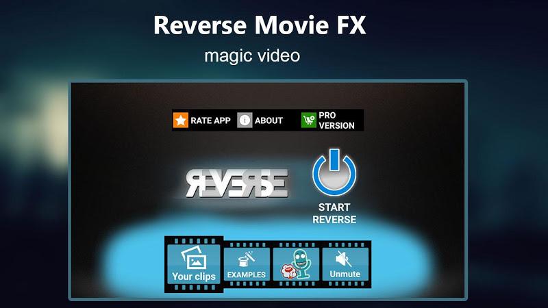 Reverse Movie FX - magic video Screenshot 14