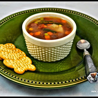 Crockpot Vegetable-Beef Soup