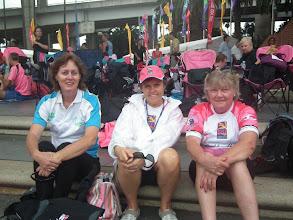 Photo: Dragons Abreast Coffs Coast CNY 2011 - Helen, supporter, Maria Maione & Jenny GT