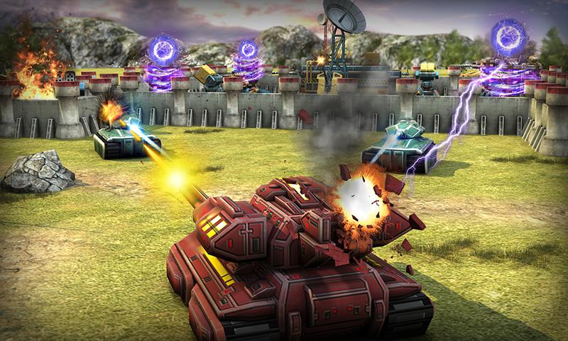Tank Destruction: Multiplayer- screenshot