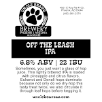 Uncle Bear's Off The Leash IPA