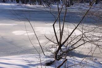 Photo: Frozen river