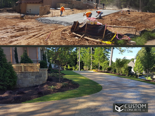 concrete driveway replacements in Atlanta