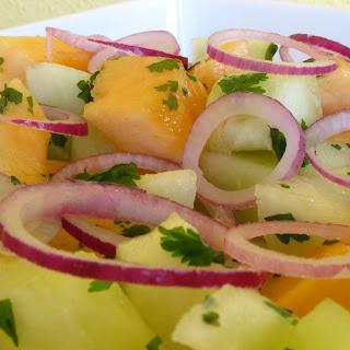Cantaloupe Salad.