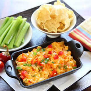 Buffalo Chicken Hot Pepper Dip.