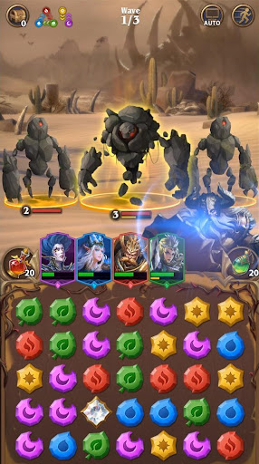 Deck Heroes: Puzzle RPG screenshot 7