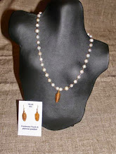 Photo: <BEREHYNYA> {Great Goddess Protectress} unique one-of-a-kind statement jewellery by Luba Bilash ART & ADORNMENT  14K gold vermeil cone pendant/earrings, freshwater pearls SOLD/ПРОДАНИЙ  http://www.wikihow.com/Clean-A-Pearl-Necklace