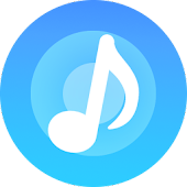 Blue Tunes - Floating Youtube Music Video Player Icon