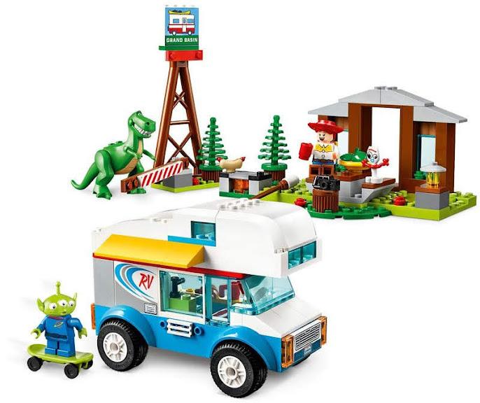 Contenido de Lego® 10769 Vacaciones en Autocaravana