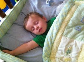 Photo: Sleeping Finn
