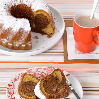 Nougat-Marmorkuchen