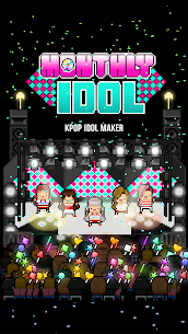 Monthly Idol MOD (Free Shopping) [Latest] 1