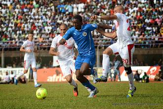 Photo: John Kamara (Leone Stars) [vs. Tunisia, June 2013 (Pic: Darren McKinstry)]