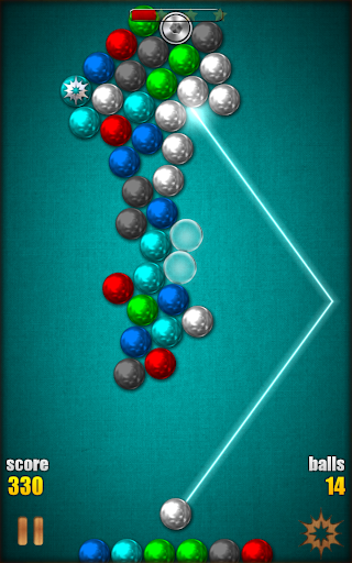 Magnetic Balls HD Free: Match 3 Physics Puzzle 2.2.0.9 screenshots 24