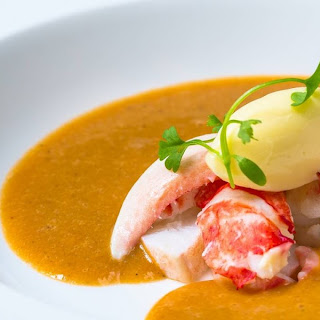 Lobster and Cornish Crab Bisque.