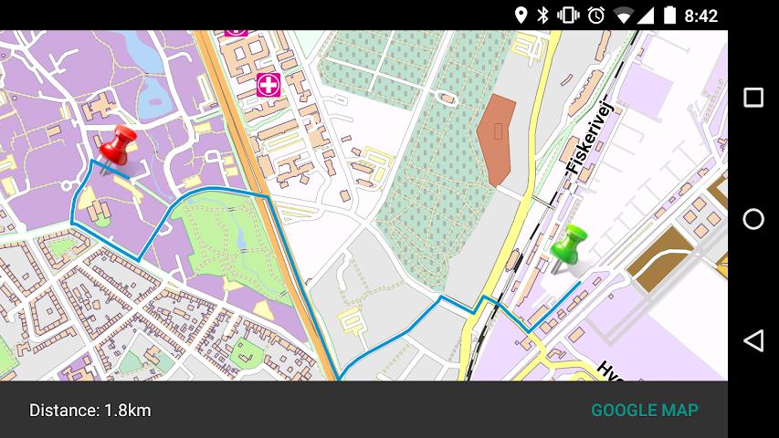 android Haldimand - Canada Offline Map Screenshot 1