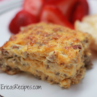 Sausage Egg Casserole With Cream Of Mushroom Soup Recipes.