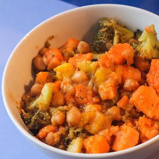 Mango-Glazed Sweet Potato Salad Recipe