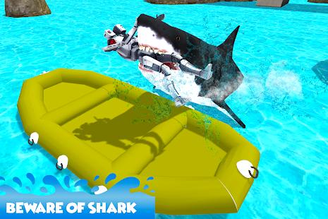 Shark Hunter Police Robot - náhled