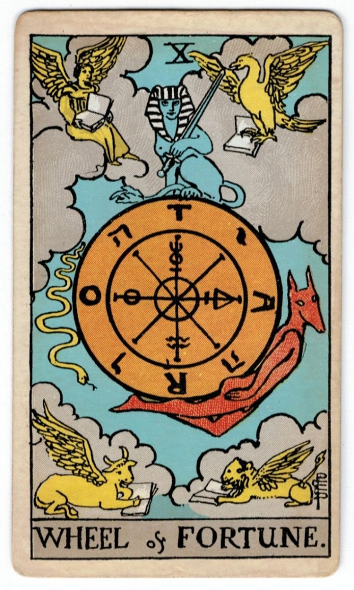 Wheel Tarot Card Meaning