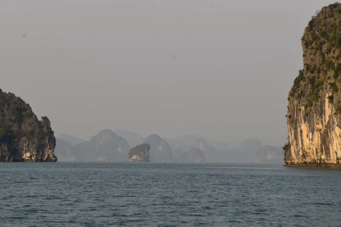 experiencia crucero bahia de halong