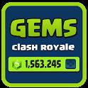 Gems 💎 Clash Royale Prank icon