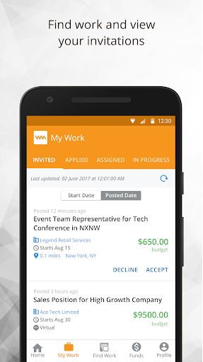 WorkMarket - Find Jobs and Get Work Done Anywhere screenshot 4