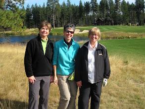 Photo: Janet, Vicky, Linda at Rope Rider