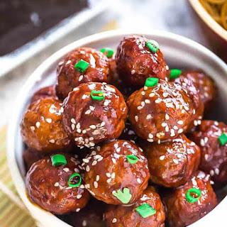 Asian Glazed Meatballs (Instant Pot, Oven or Slow Cooker) Recipe