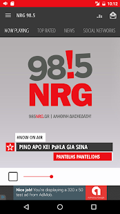 NRG 98.5- screenshot thumbnail