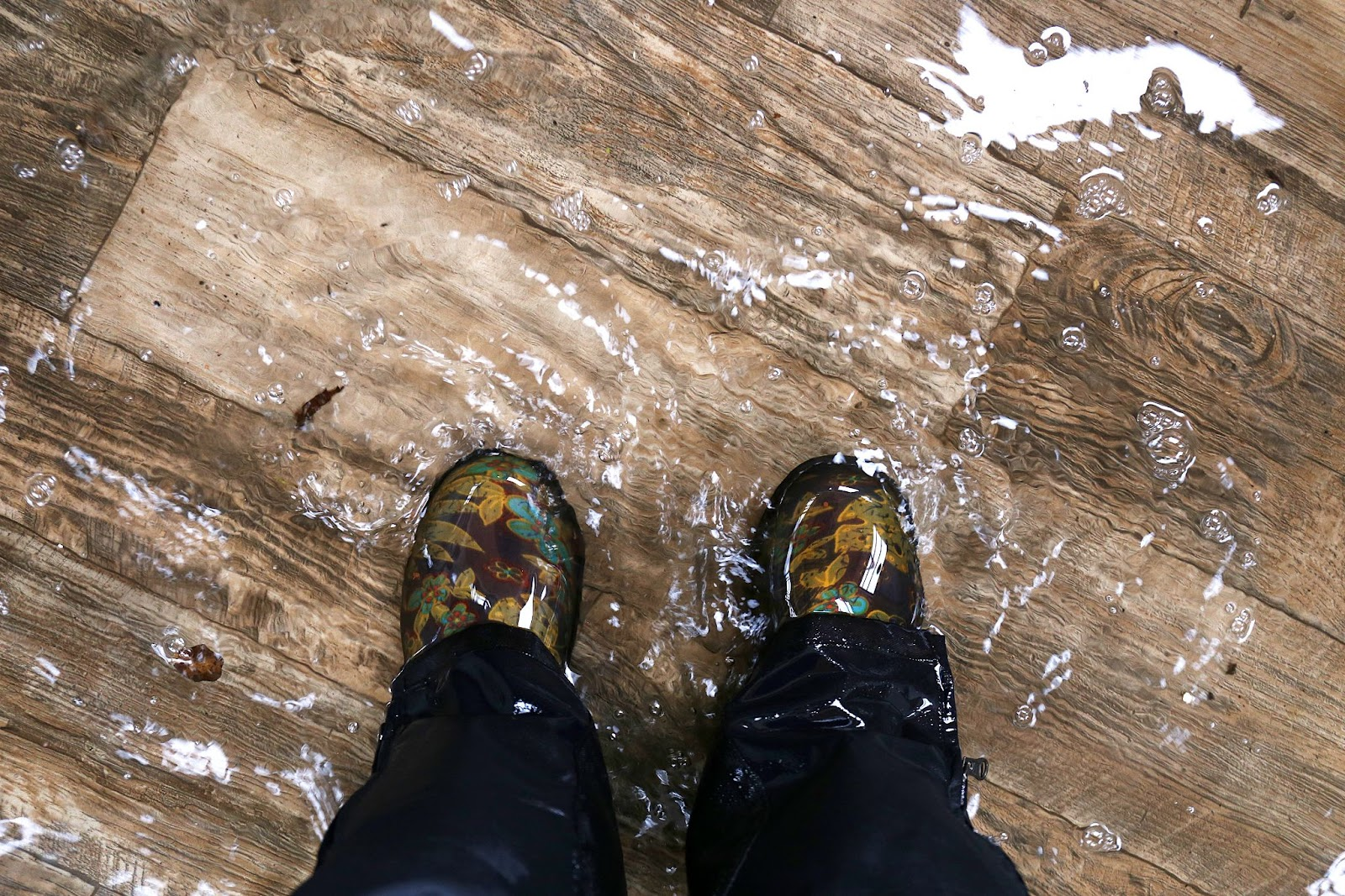 COTW Southern Colorado Real Estate Blog discusses how to protect your wood floor from water damage